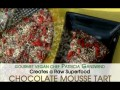 Vegan Orange Chocolate Mousse Torte with Raw Food Pastry Chef AJ