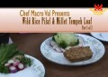 Food for Life: Replacing Meat Garbanzo Bean Burger, Tempeh Broccoli Saute, & Ambrosia Fruit Salad